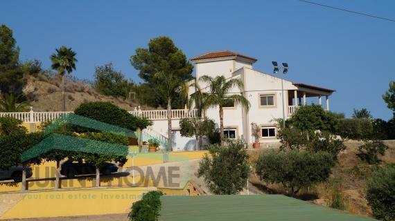 villa con mansion