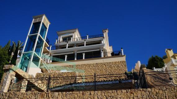 Luxe villa in Versace design in Altea