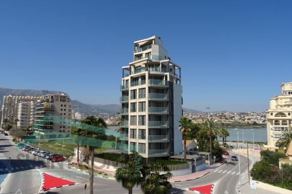 11 luxury appartements in Calpe