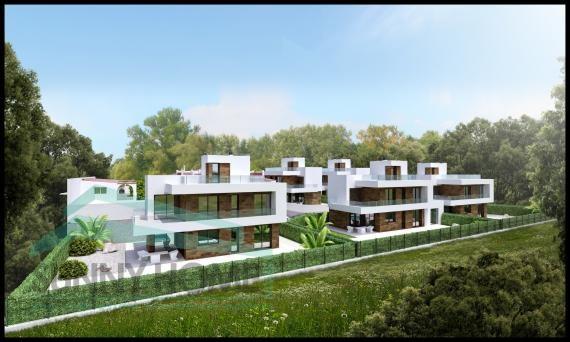modern villa in Albir