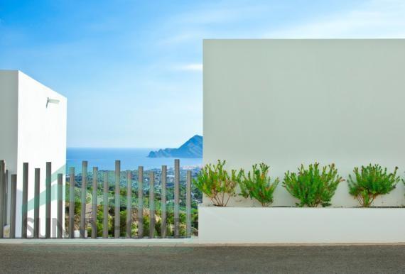 villa moderna en Altea