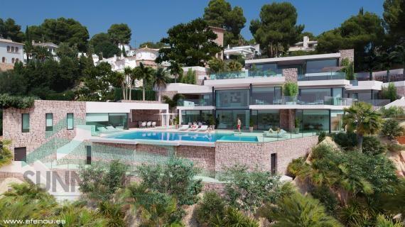 villa de luxe a Moraira Cabo Formentor