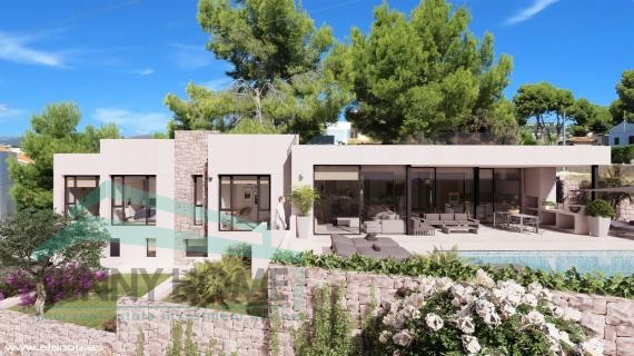 moderne luxe villa in Calpe