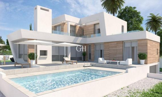 Villa de estilo moderno en Calpe a solamente 1500 metros de la playa