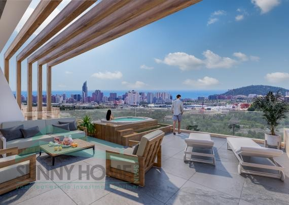 stone valley luxe appartementen in Finestrat