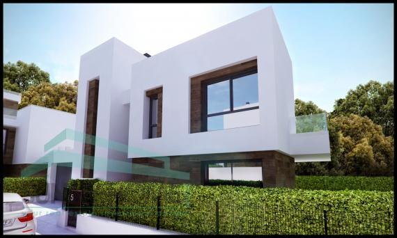 villa de nueva construccion en ALBIR